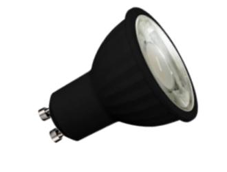 Nueva DICROICA LED GU10 8W Negra